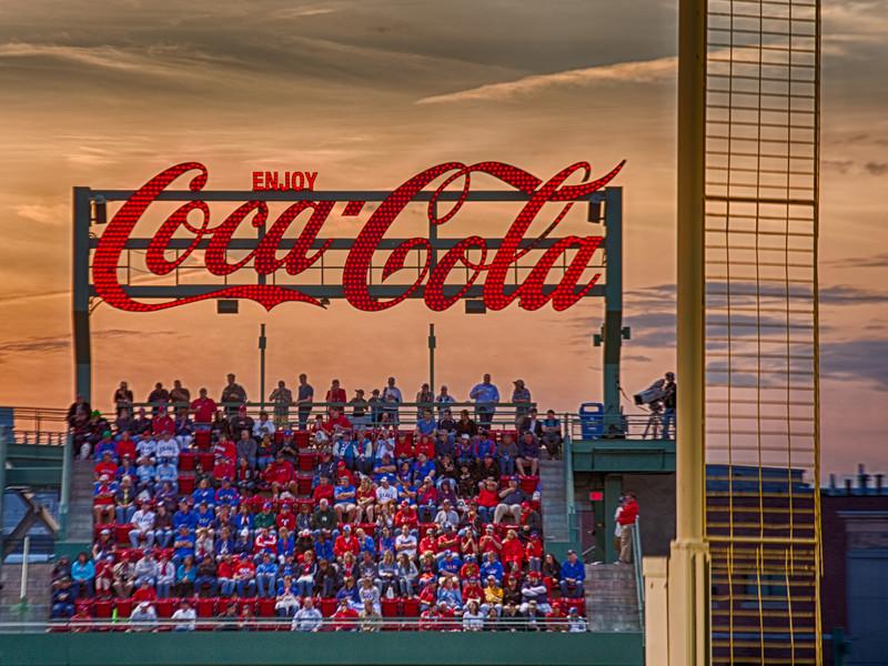 Coca Cola at Fenway