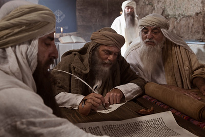 Saint Jerome Learns Hebrew in Jerusalem, 388 AD