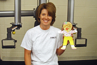 Wednesday, March 18 - Cindy exercises every morning after she drops the boys off at school.  Today, I joined her for a workout at the YMCA.  I feel stronger all ready.