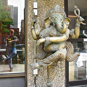 Refelecting on Ganesha... (Foto Fridays 15/52)
