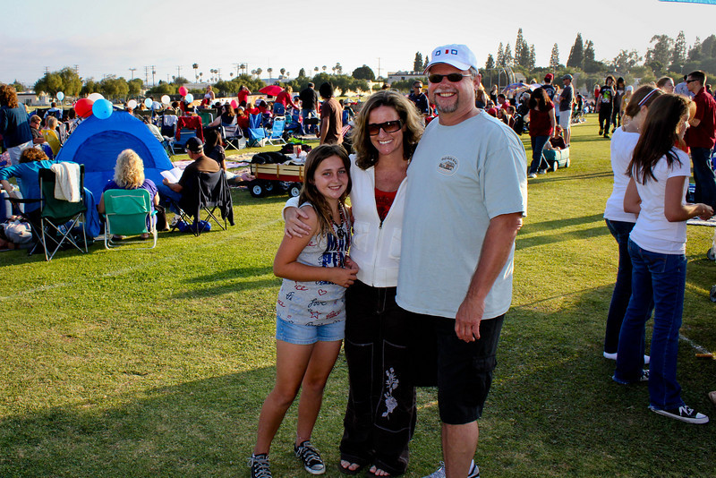 Rotary Club of Ventura, 4th of July Fireworks program, 2010