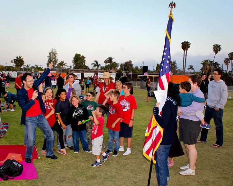 Rotary Club of Ventura, 4th of July Fireworks program, 2010