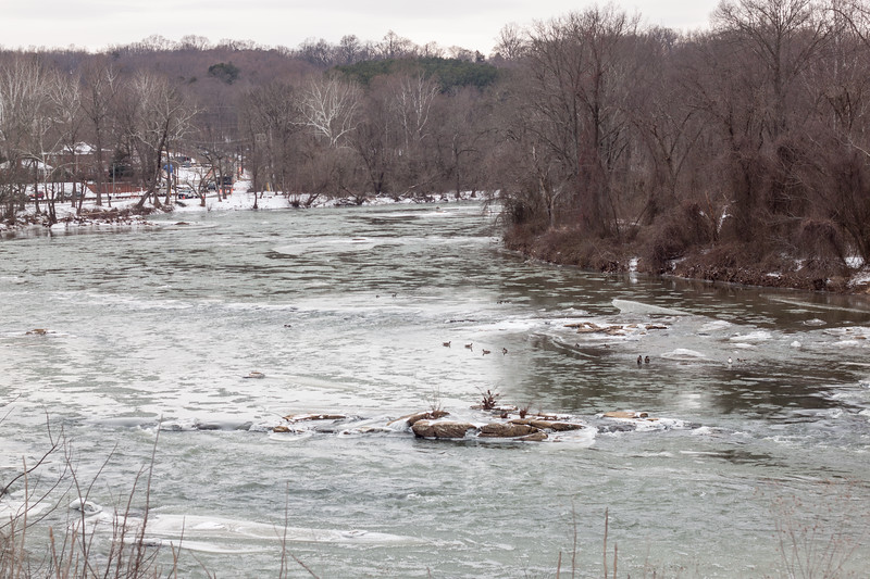 Rappahannock River in Winter