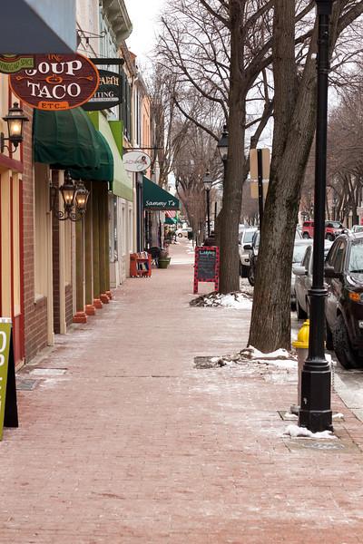 Caroline Street near Sammy T's