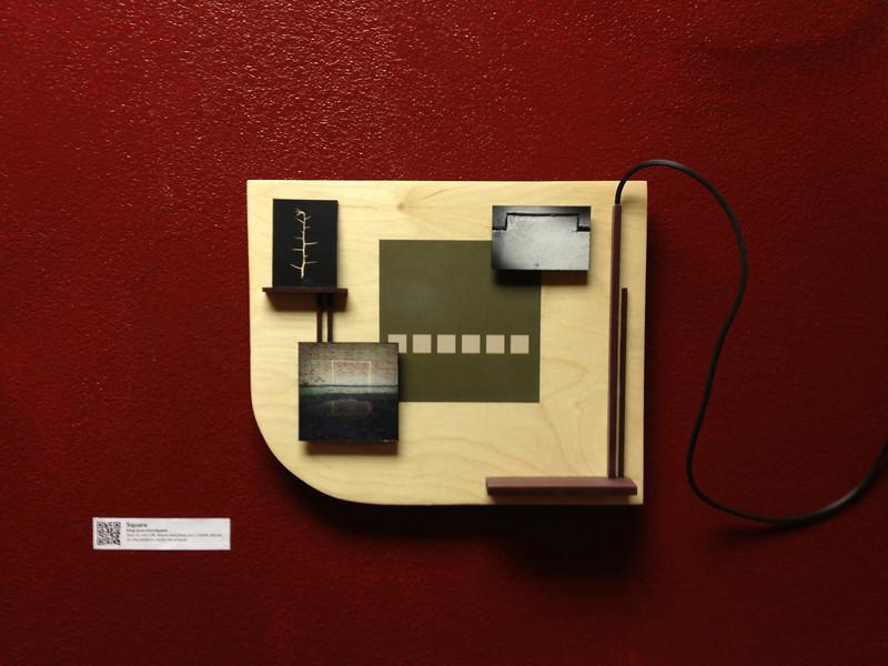 """""""Square"""", wood panel"""
