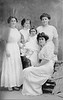 Shirley Raisler and Rose's sisters...back of photo with all names is next