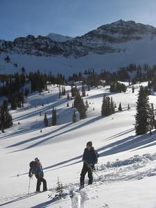Hyalite skiing 3