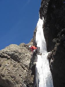 Hyalite Ice Climbing 2