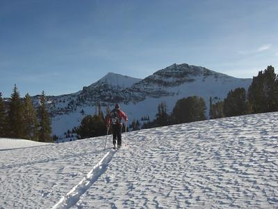 Hyalite skiing 2