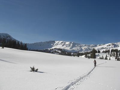 Hyalite skiing