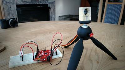GoBot rangefinder w RGBmm10 feedback