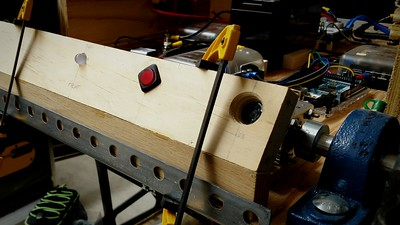 Glued sensor panel to a base piece to elevate it and pitch it 30 degrees.