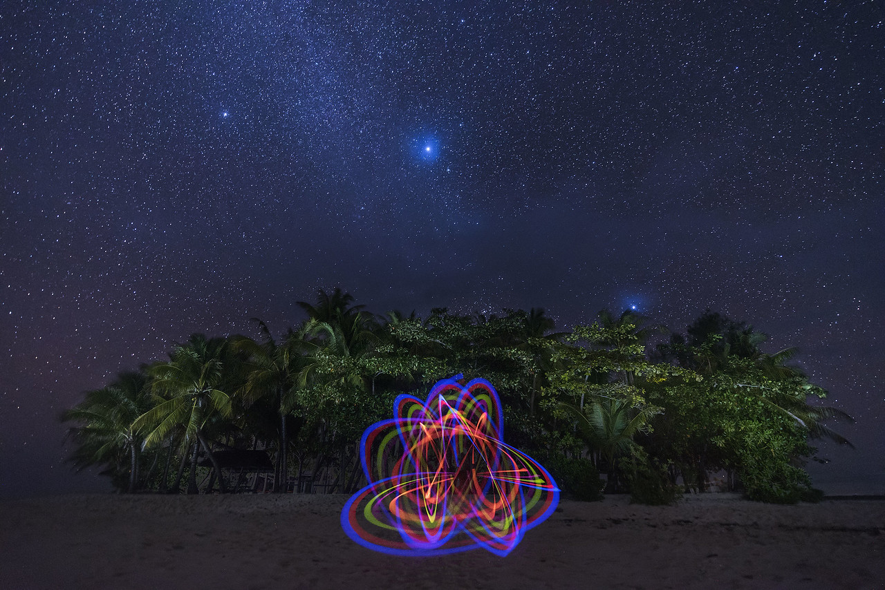 Guyam Light Painting