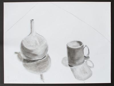 Vase and mug