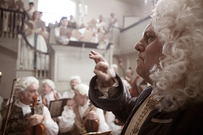 George Frideric Handel Conducting The Messiah