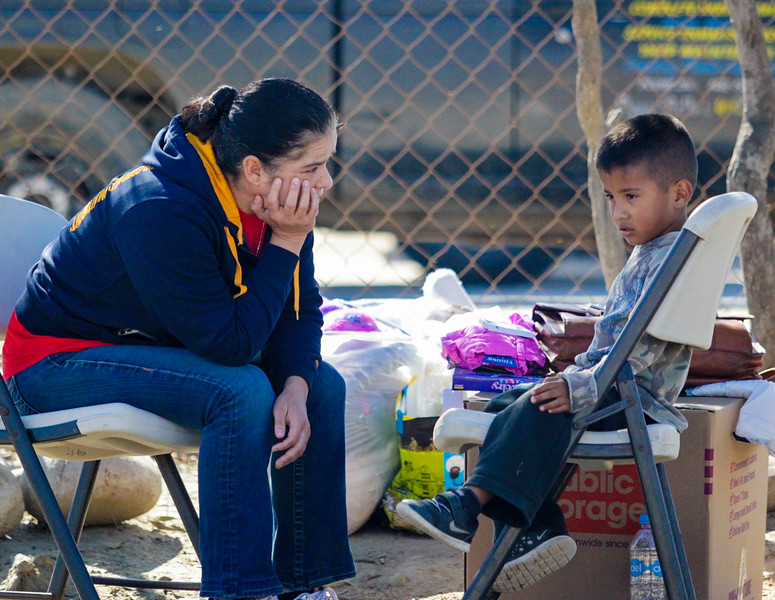"John Chaides / Courier<br /> Grethel Solis, Psy.D., from Los Angeles, the ""El Dumpe"" Clinic by Healing Hearts Across Borders in Tijuana, Mexico on Saturday, November 11, 2017. Many mental health issues tend to arise in poverty striken areas, such as stress and depression."