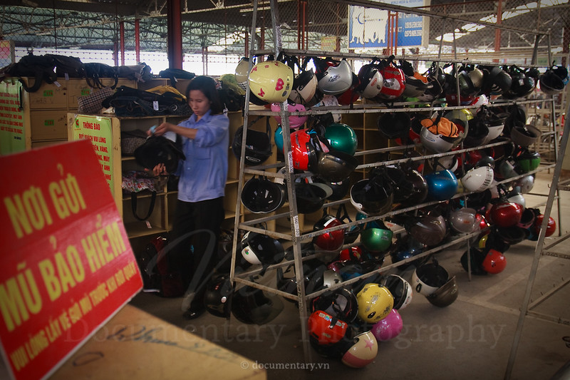 Helmets keeping