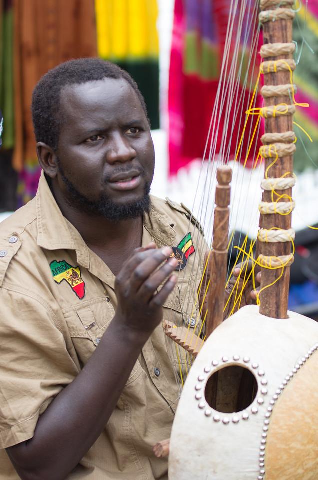 african musician