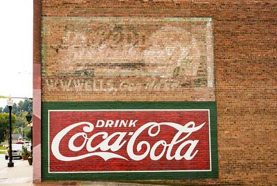 NC, Canton - Coca-Cola Wall Sign 02