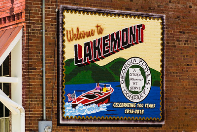 Lakemont Wall Sign  02 - Lakemont, GA