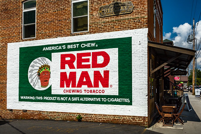 Red Man Sign - Blue Ridge, GA