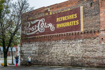 Pepsi-Cola Ghost Sign - Birmingham, AL
