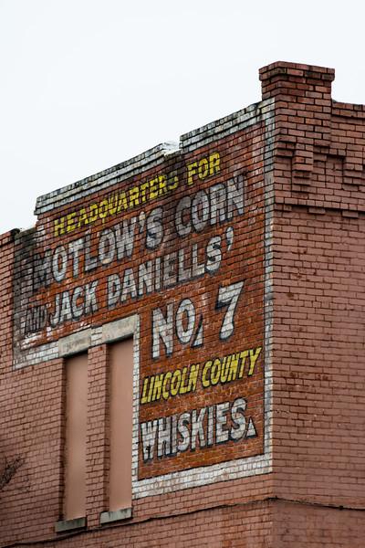 Motlow's Corn Ghost Sign - Birmingham, AL