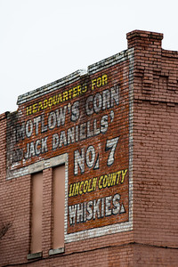 Motlow's Corn Ghost Sign - Birmingham, AL