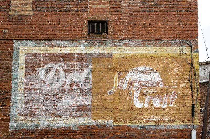 Wall Sign Ghost - Canton, NC