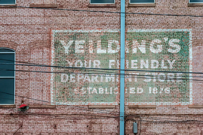 Yeilding's  Ghost Sign -  Brimingham, AL