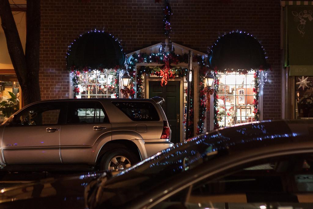 Very Festive Shop on Caroline Street