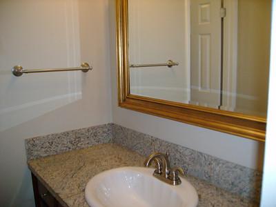 Guest bathroom - sink.