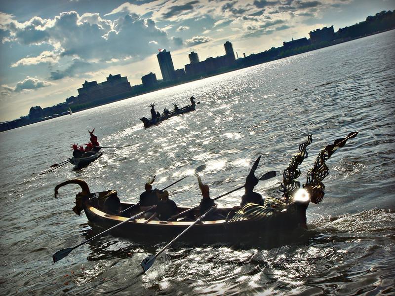 Hudson River Pageant 2011, New York City.<br /> © Laura Razzano