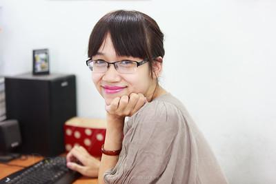 Bùi Huyền Trang - biên tập viên