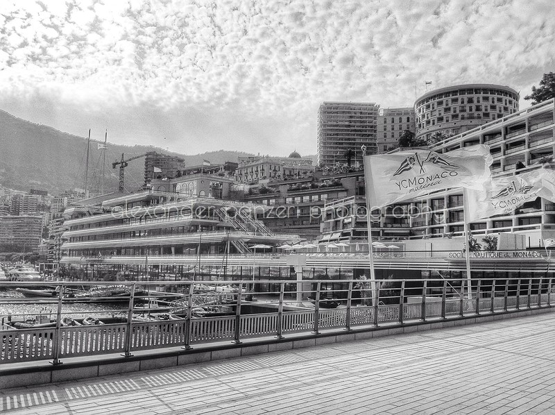 The new home of the Yacht Club Monaco - B&W