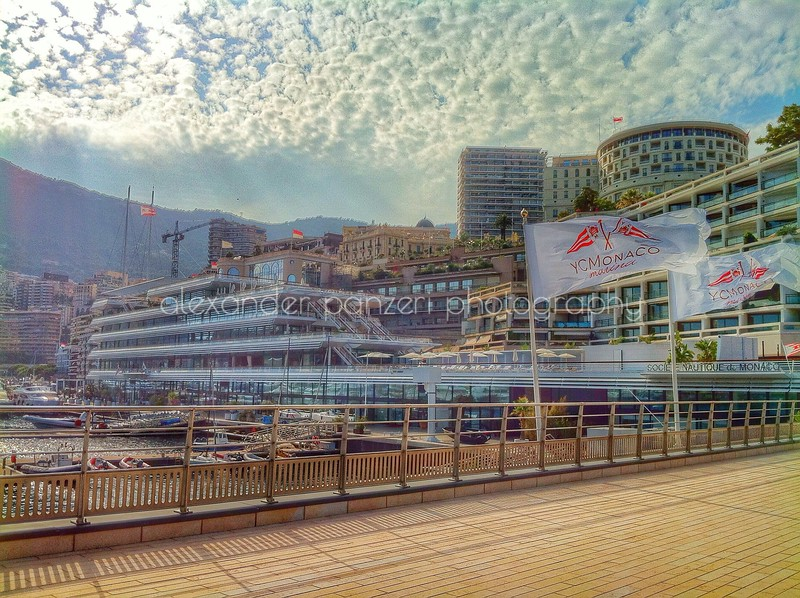 The new home of the Yacht Club Monaco - HDR effect