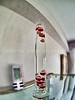 """Start time-lapse of a Galileo's thermometer:<br /> <a href=""""http://it.wikipedia.org/wiki/Termometro_galileiano"""">http://it.wikipedia.org/wiki/Termometro_galileiano</a>"""