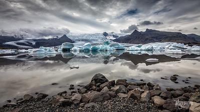 Fjallsarlon Glacial Lagoon, Iceland