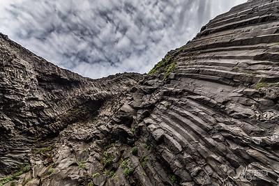 Basalt Cave, Kirkjufjara, Iceland