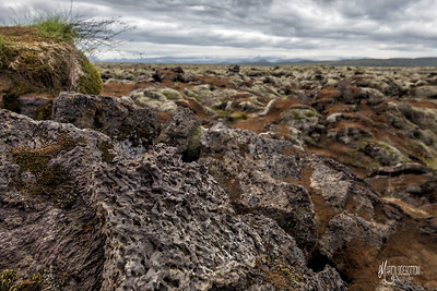 Lava Fields 2, Medalland, Iceland