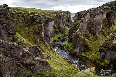 Canyon, Fjadrargljufur, Iceland