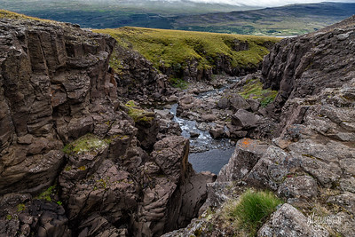 Hengifoss & Litlanefsfoss, Iceland
