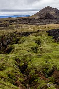 Fissure, Krafla, Iceland