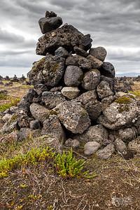 Laufskalavarda Cairn, Iceland