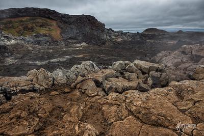 Krafla Lava Fields 3, Iceland