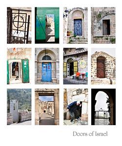 doors of Israel 20x24