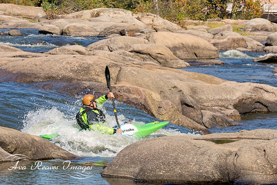 Navigating the Rocks of The River