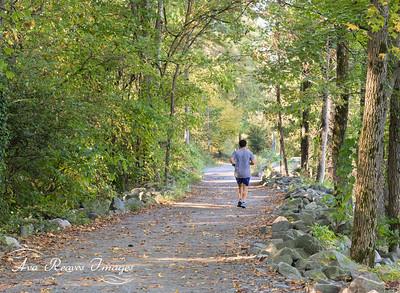 Running Path on Belle Isle