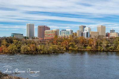 Autumn  Along the James River