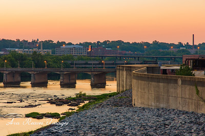 Sunrise Views From The Floodwall